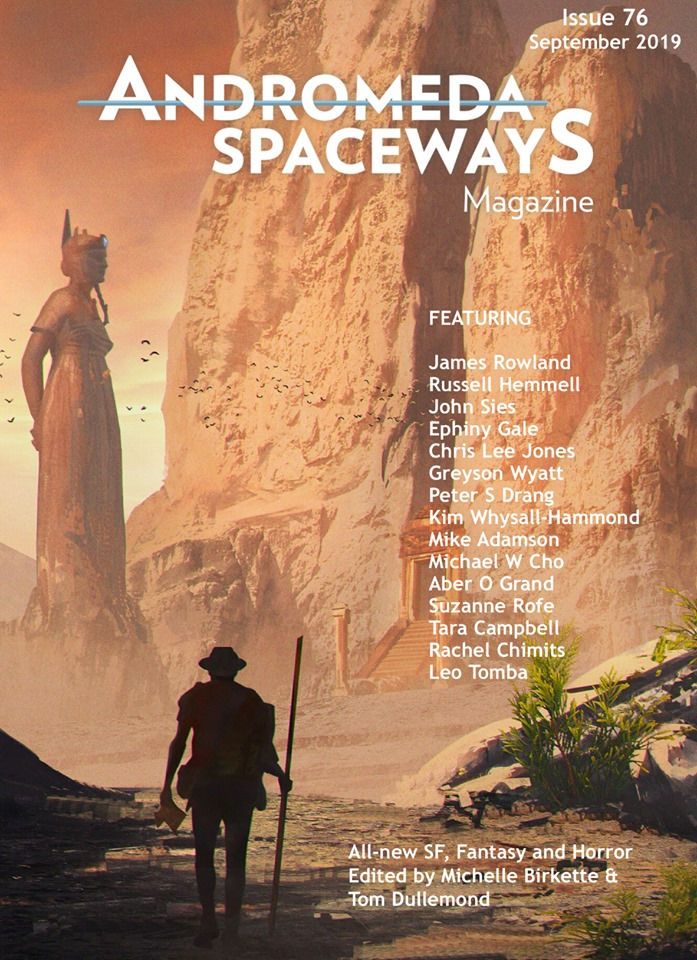 Andromeda spaceways issue 76 cover